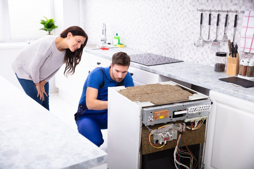 dishwasher service edmond oklahoma